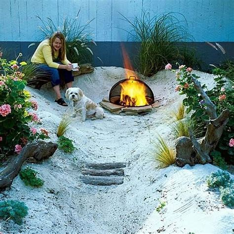 how to make your backyard fun 12 make a beach in the back yard
