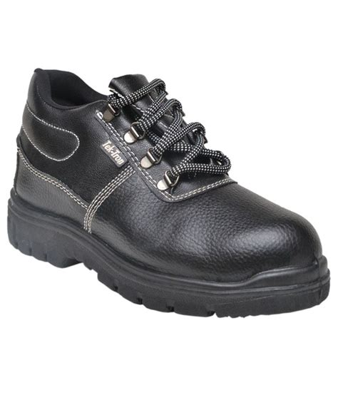 karam black safety shoes best price in india as on 2016