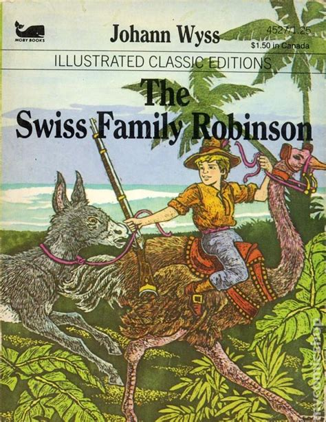 moby picture book illustrated classic editions the swiss family robinson pb