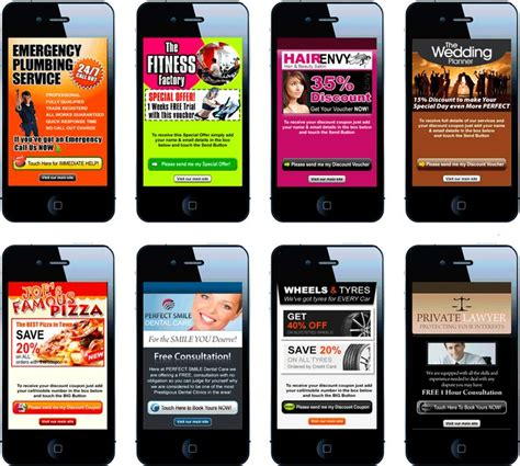 mobile page 37 best mobile landing pages images on mobile