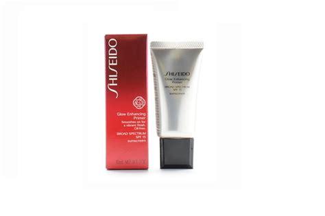 Shiseido Glow Enhancing Primer shiseido glow enhancing free primer beautysiam