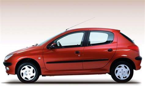 Peugeot 206 Size Peugeot 206 5 Doors 2002 2003 2004 2005 2006 2007