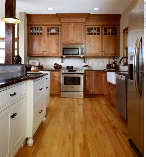 is mixing kitchen cabinet finishes okay or not