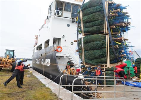 christmas tree delivery chicago dvids images uscgc alder delivers tree image 2 of 2