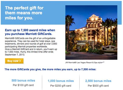 Mileage Plus Gift Cards - earn 7 500 united mileageplus miles buying marriott gift cards frequently flying