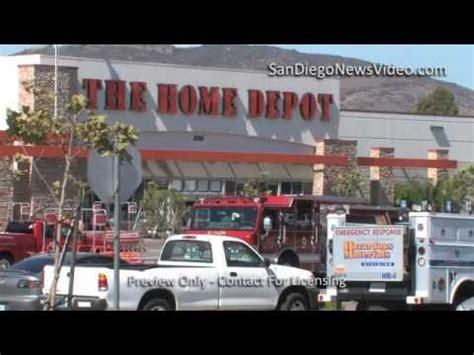 hazmat spill prompts home depot evacuation el cajon