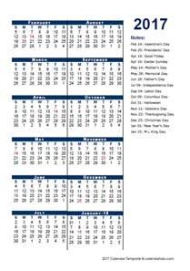 Fiscal Calendar Template by 2017 Fiscal Period Calendar 4 4 5 Free Printable Templates