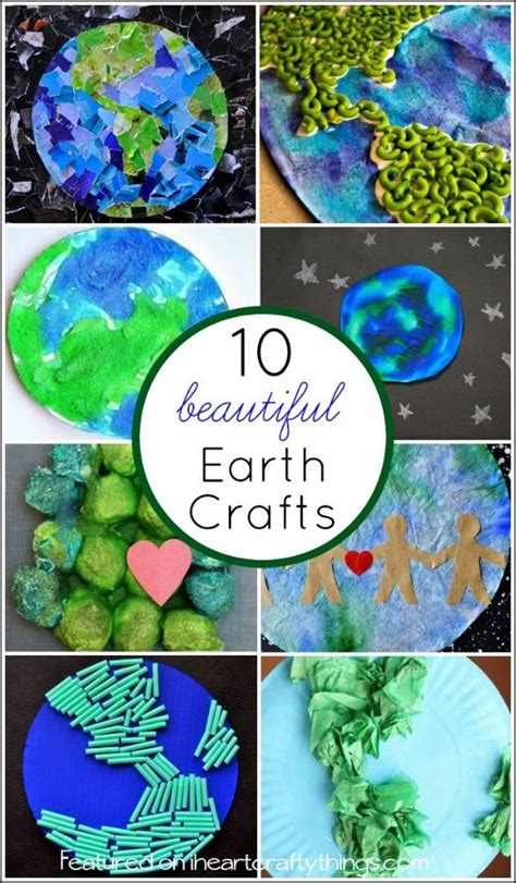 Earth Day Paper Crafts - 10 beautiful earth crafts for earth day beautiful