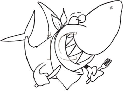 funny shark coloring page royalty free fish clip art fish and sea life clipart