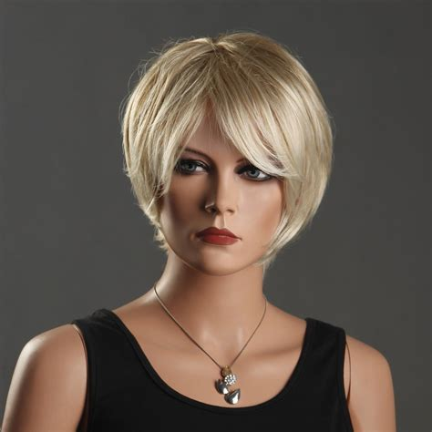 women with lots of hair popular short blonde wig buy cheap short blonde wig lots