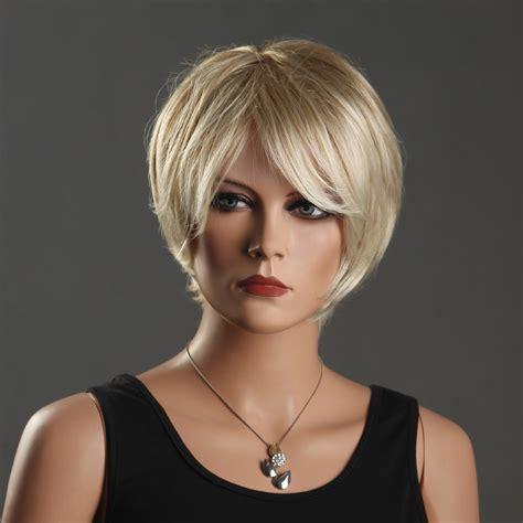 popular short blonde wig buy cheap short blonde wig lots