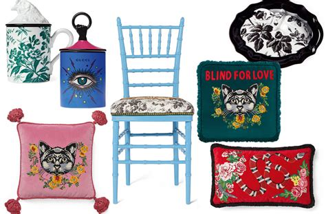 Gucci Home Decor Gucci Is Launching A D 233 Cor Collection This Fall And It S Beyond Aol Lifestyle