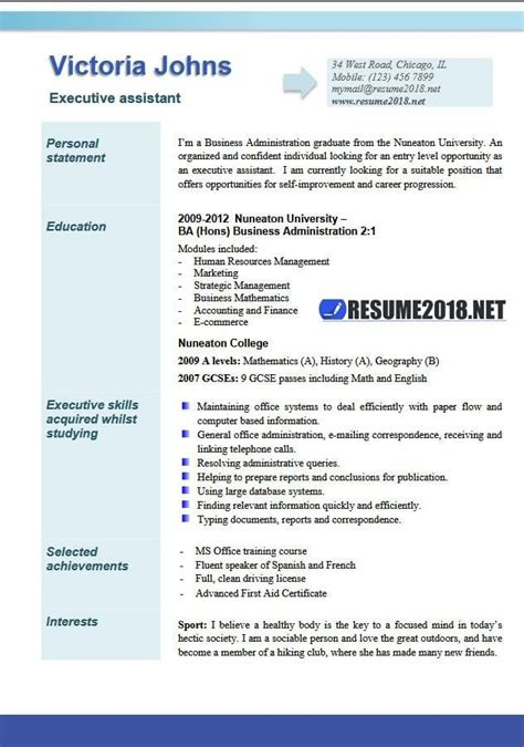 administrative assistant resume sles 2018 resume exles 2018 administrative assistant gentileforda