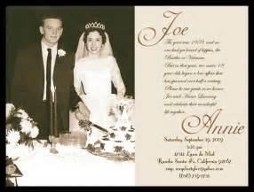 50th Wedding Invitation Templates by 40th Anniversary Invitation Templates