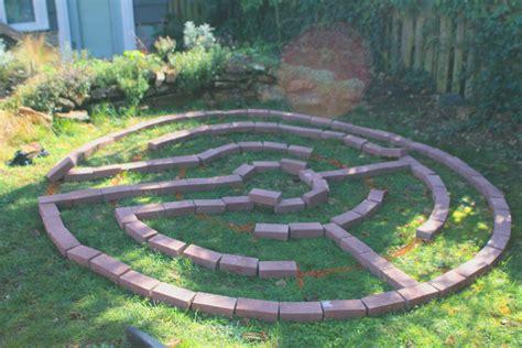 How To Create A Brick Garden Labyrinth A Sacred Journey Garden Labyrinth Templates