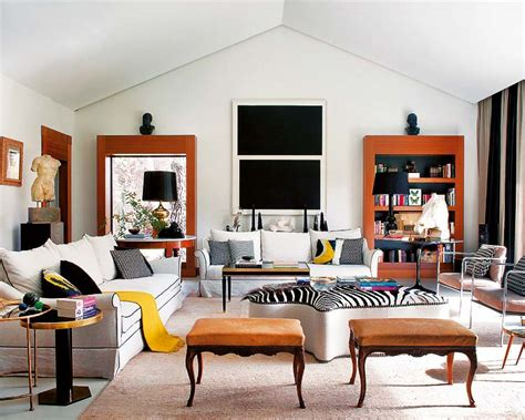 eclectic style living room 12 charming living room designs in eclectic style
