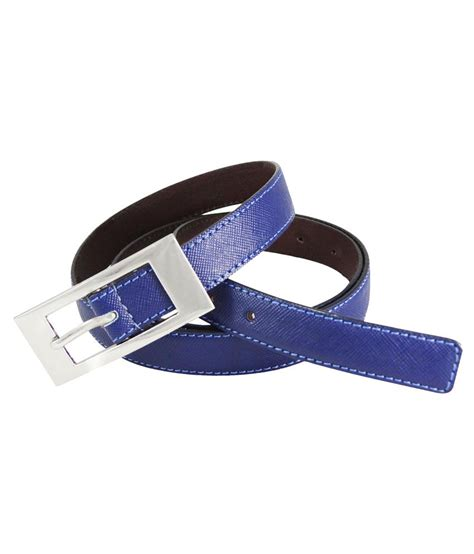 sup blue leather belt buy at low price in india