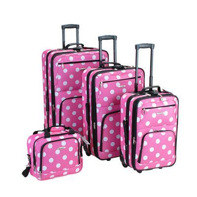 Set My Trip Polkadot 26 best images about polka dot luggage sets on and pink polka dots
