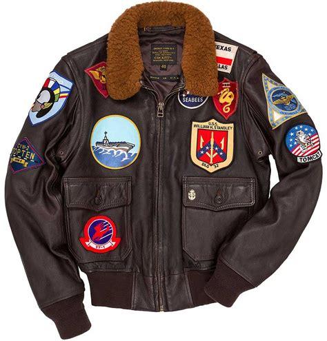 mens official top gun bomber jacket 80s army fancy dress costume cockpit mens reproduction top gun g 1 leather flight jacket