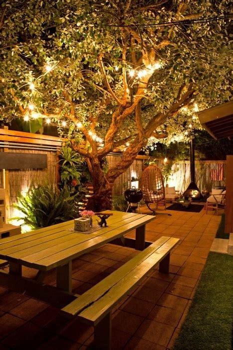 great diy ideas   create backyard lighting
