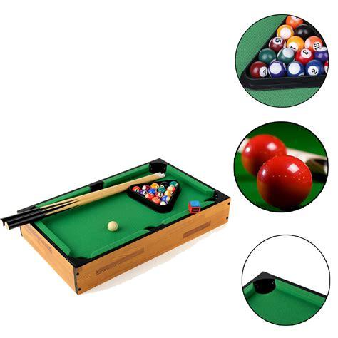 Biliard Table Toys 18 quot small billiard table pool desktop miniature tabletop