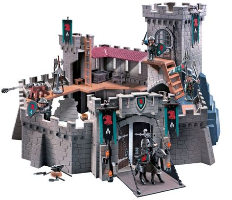 Lego Cogo 3269 playmobil chateau fort trendyyy