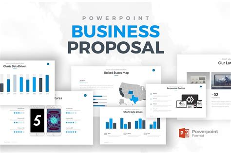 Business Proposal Powerpoint Powerpoint Templates Creative Market Powerpoint Templates Business Presentation