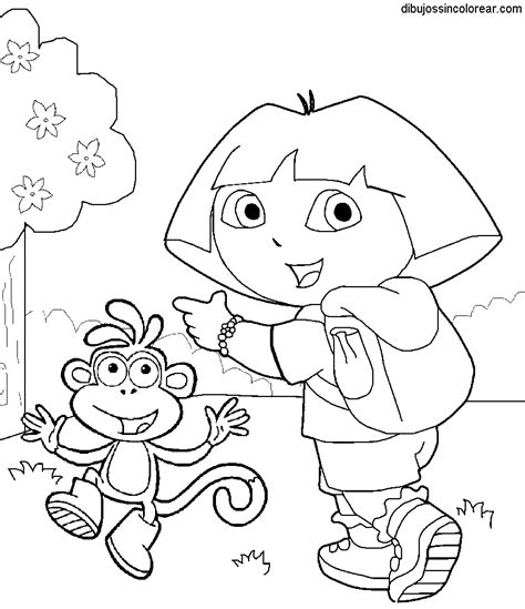dora swimming coloring pages free coloring pages of dora swim suit