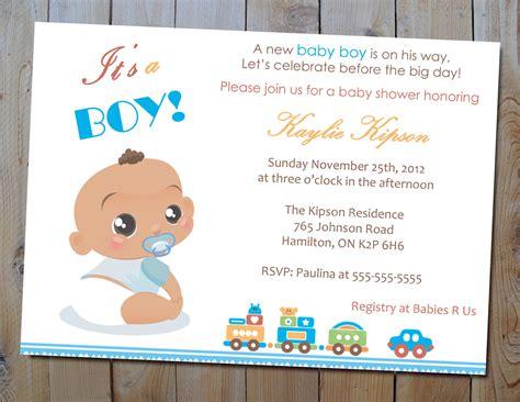 boy baby shower invitations wording ideas baby shower