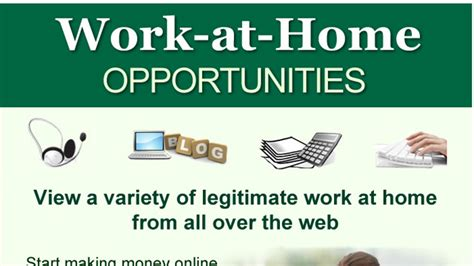 work at home opportunities in advertising