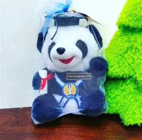 Boneka Wisuda Panda boneka wisuda panda universitas aisyiyah kado wisudaku