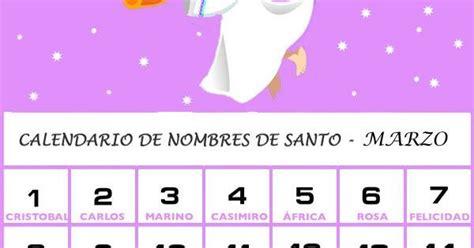 Calendario Para Bebes Calendario De Los Nombres De Santos De Junio