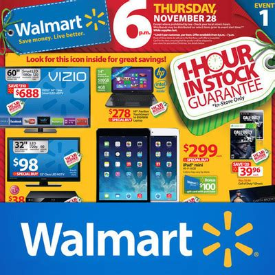 black friday 2015 walmart target kohls ads and hours walmart black friday 2013 ad