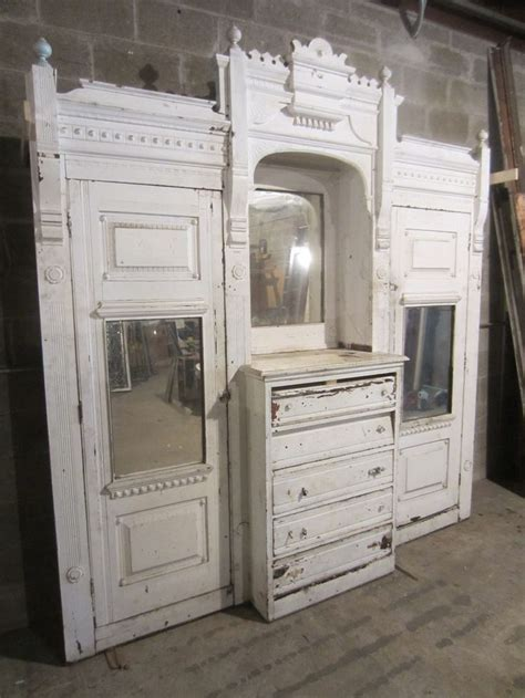 built in armoire beautiful antique carved walnut closet front built in