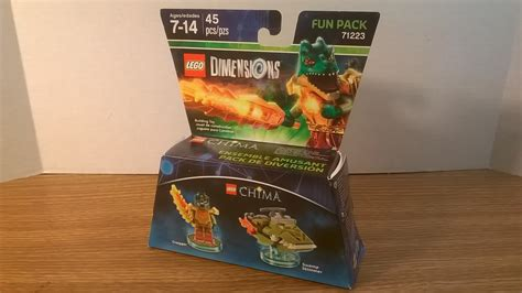Lego 71223 Dimensions Pack Cragger lego dimensions pack legends of chima cragger 71223