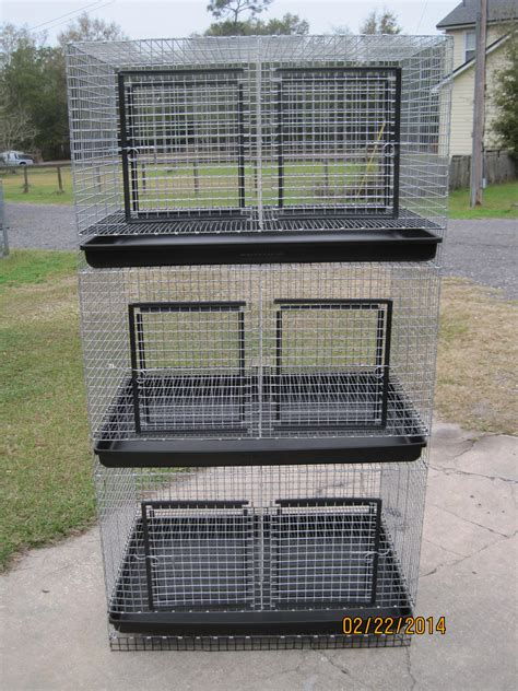 Rabbit Hutch Wire Stackable Cages Wilsoncustomcages