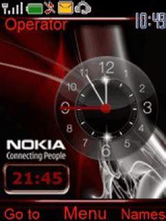 themes clock nokia 6500 download nokia reds clock nokia theme mobile toones