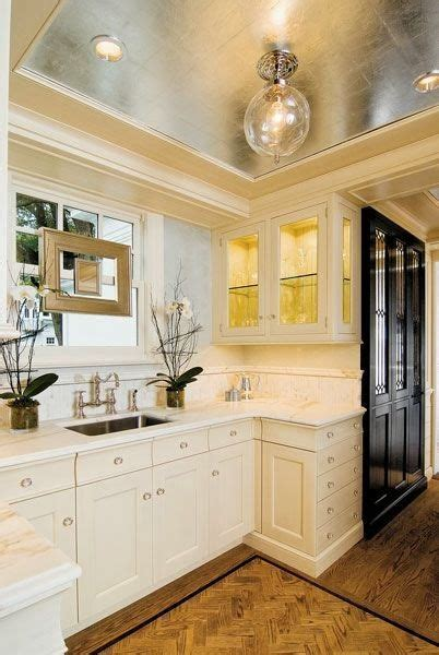 tray ceiling kitchen 55 best gold and silver leaf images on