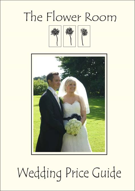 Wedding Flowers Brochure by Florist Wedding Brochures