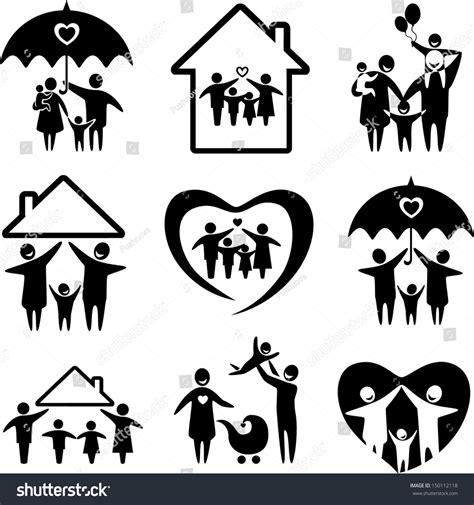 Big Set Of 7 big set family icons happy family stock vector 150112118