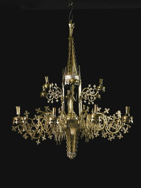 Aubeau Lightening Mask sotheby s to sell magnificent 15th century chandelier