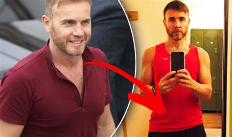 gary weightlifting weight loss take that gary barlow takes on strict