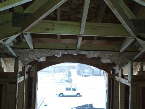 Vaulted Ceiling Construction by Barrel Into A Vaulted Ceiling Framing Contractor Talk