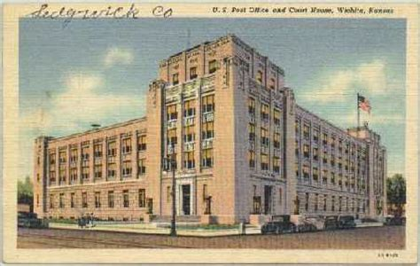 Us Post Office Wichita Ks by Kansas Postal History