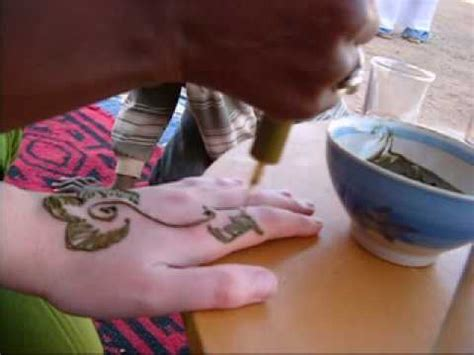 henna tattoo zelf zetten hoe gebruik je henna funnydog tv