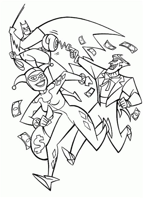 harley quinn and joker coloring pages harley quinn coloring pages coloring home