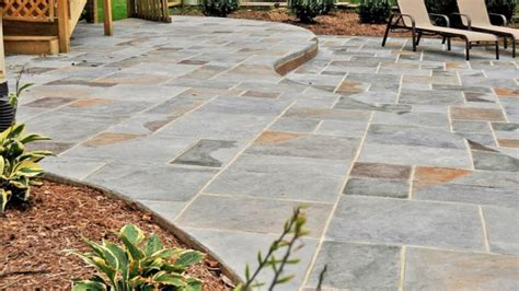 cost of stone patio canada modern patio outdoor