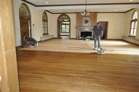 Solid Wood Floor Staining   Bloomington, IN   ProSand Flooring