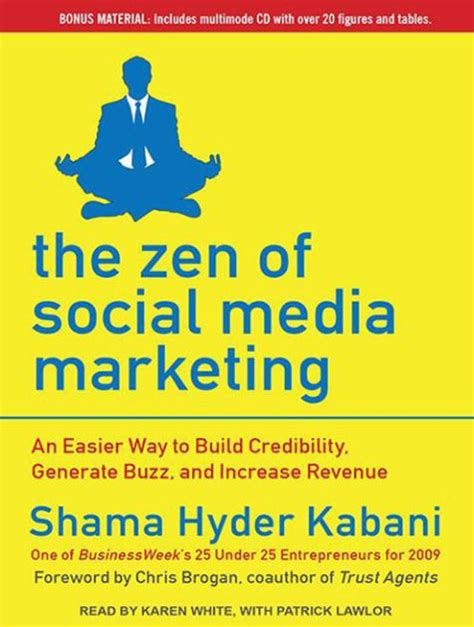zen and the of letters books the zen of social media marketing an easier way to build