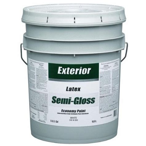 5 gallon exterior paint prices only 115 04 z49w00850 5 gallon exterior semi gloss white